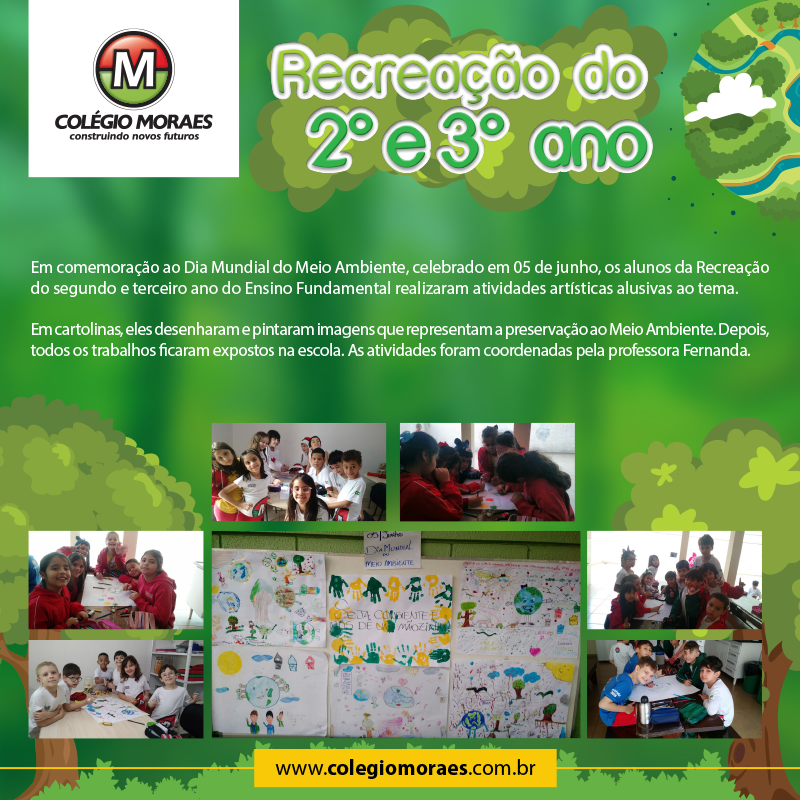 Recreação do 2º e 3º ano